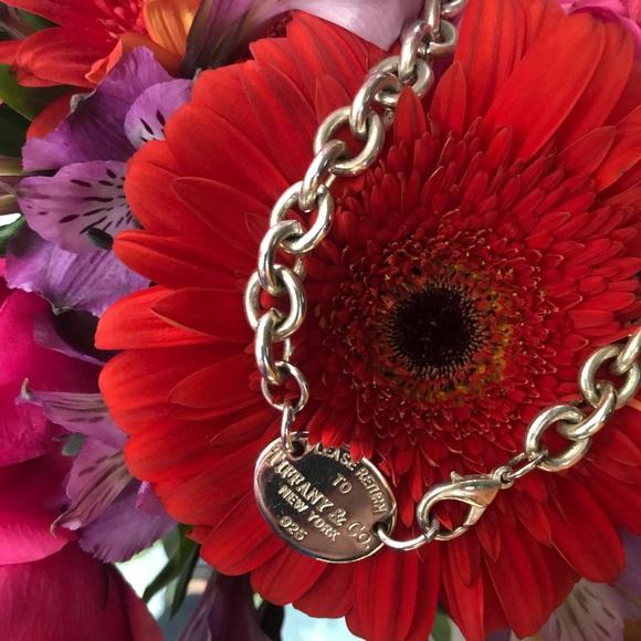 4981c6b13 Tiffany & Co. Jewelry | Tiffany Co Oval Chain Necklace | Poshmark